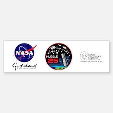 Hubble @ 25!! Bumper Bumper Sticker