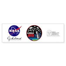 Hubble @ 25!! Bumper Stickers