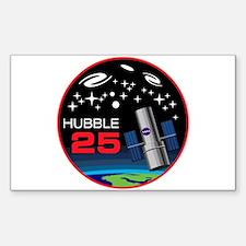 Hubble @ 25!! Sticker (rectangle)