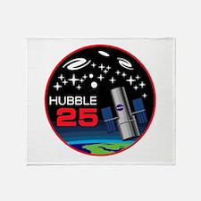 Hubble @ 25!! Throw Blanket