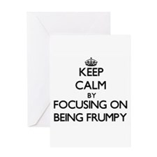 Keep Calm by focusing on Being Frum Greeting Cards