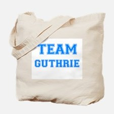 TEAM GUTHRIE Tote Bag