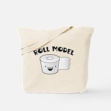 Roll Model Tote Bag