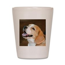 Beagle Dog Shot Glass