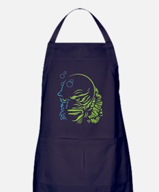 Unique Lagoon creature Apron (dark)