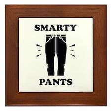 Smarty Pants Framed Tile