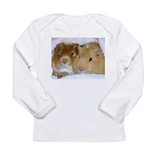 Cute Guinea pigs Long Sleeve Infant T-Shirt