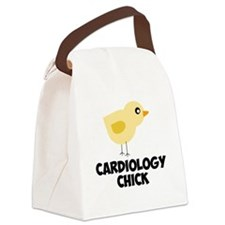 Cardiology Chick Canvas Lunch Bag
