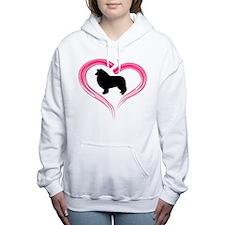 Cute Herro puppy Women's Hooded Sweatshirt