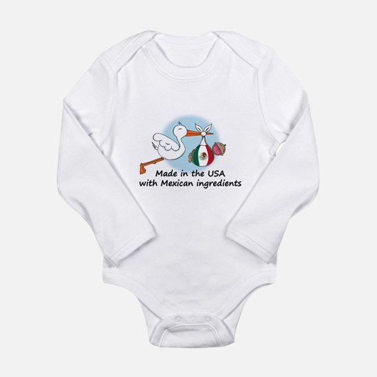 Stork Baby Mexico USA Body Suit