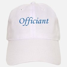 Officiant - Blue Baseball Baseball Cap