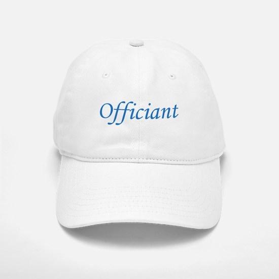 Officiant - Blue Baseball Baseball Cap