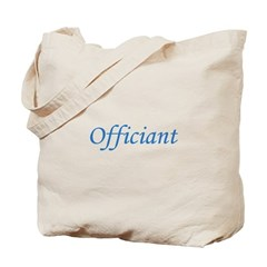 Officiant - Blue Tote Bag
