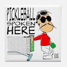 """""""THAT PICKLEBALL GUY"""" Tile Coaster"""