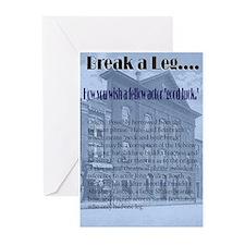 break-a-leg Greeting Cards