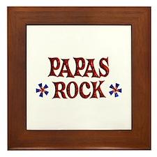 Papas Rock Framed Tile
