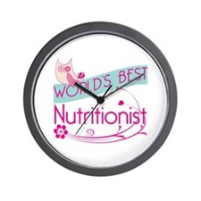 World's Best Nutritionist Wall Clock