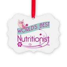 World's Best Nutritionist Ornament