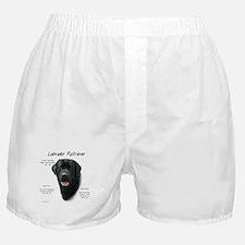 Black Lab Boxer Shorts
