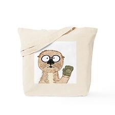 Otter Dweeb Tote Bag