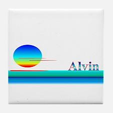 Alvin Tile Coaster