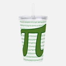 Pi Numbers Acrylic Double-wall Tumbler