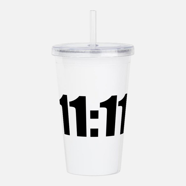 11:11 Acrylic Double-wall Tumbler