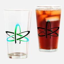 Atheist Symbol Drinking Glass