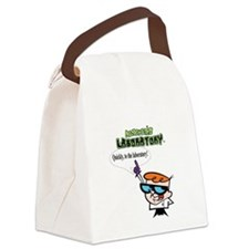 Dexter to the lab Canvas Lunch Bag