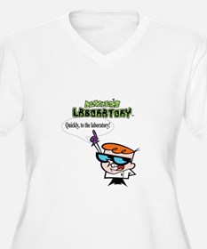 Dexter to the lab Plus Size T-Shirt