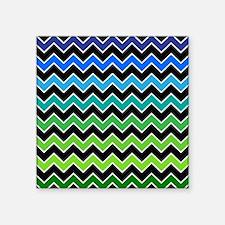 Stylish Gradient Chevron Sticker