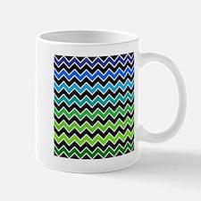Stylish Gradient Chevron Mugs