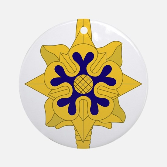 Military+Intelligence+Insignia.pn Ornament (Round)