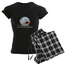 stork baby de2 white.psd Pajamas