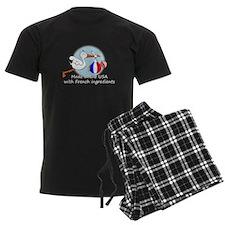 stork baby fr 2 white.psd Pajamas