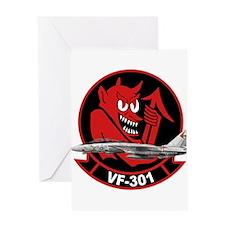 vf301logo02a Greeting Cards