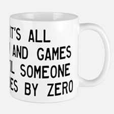 Fun And Games Divide By Zero Small Small Mug