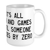 Algebra humor Large Mugs (15 oz)