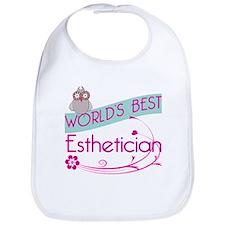 World's Best Esthetician Bib