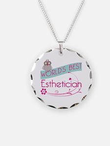 World's Best Esthetician Necklace