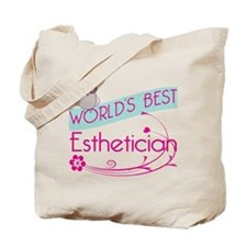 World's Best Esthetician Tote Bag