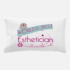World's Best Esthetician Pillow Case