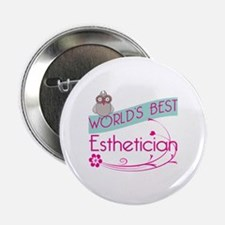 "World's Best Esthetician 2.25"" Button (10 pack)"
