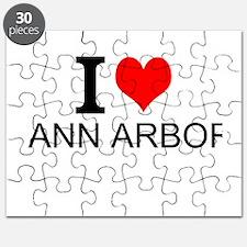 I Love Ann Arbor Puzzle