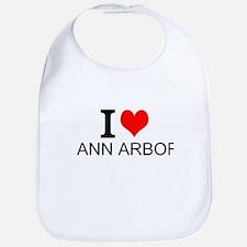 I Love Ann Arbor Bib
