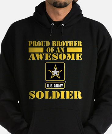 Proud U.S. Army Brother Hoodie (dark)