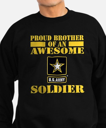 Proud U.S. Army Brother Sweatshirt (dark)