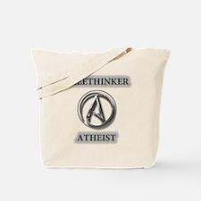 Freethinker Atheist Logo Tote Bag