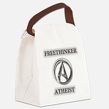 Freethinker Atheist Logo Canvas Lunch Bag
