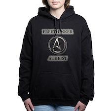 Freethinker Atheist Logo Women's Hooded Sweatshirt